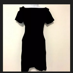 French Connection Dress 8 Black Bodycon XT80